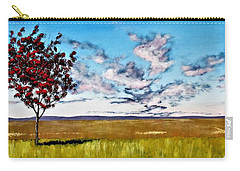 Lonely Autumn Tree Carry-all Pouch