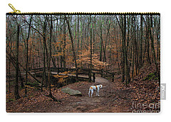 Lonely Hound Carry-all Pouch by Barbara Bowen