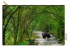 Lonely Hunter Carry-all Pouch by Steven Richardson