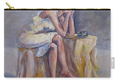 Lonely Mornings Carry-all Pouch by Barbara O'Toole