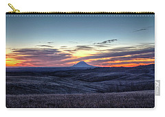 Lonely Mountain Sunrise Carry-all Pouch by Fiskr Larsen