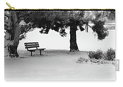 Lonely Park Bench Carry-all Pouch