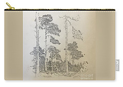 Lonely Pines Carry-all Pouch