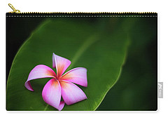 Fallen Plumeria Carry-all Pouch