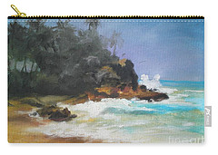 Lonely Sea Carry-all Pouch by Rushan Ruzaick