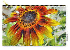 Lonely Sunflower Carry-all Pouch