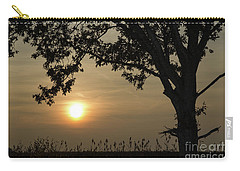 Lonely Tree At Sunset Carry-all Pouch