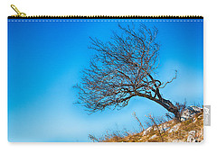 Lonely Tree Blue Sky Carry-all Pouch