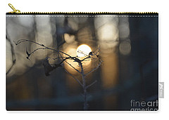 Lonely Tree Branch With Bokeh Love -georgia Carry-all Pouch