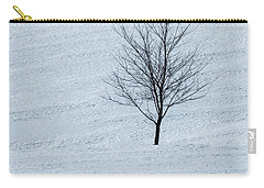 Lonely Tree Carry-all Pouch by Tom Singleton