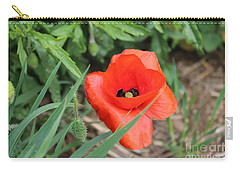 Lonesome Poppy Carry-all Pouch