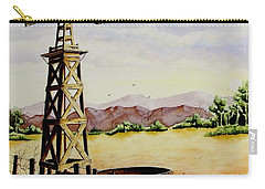 Lonesome Prairie Carry-all Pouch by Jimmy Smith