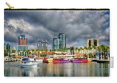 Long Beach Shoreline Marina Carry-all Pouch by Joseph Hollingsworth