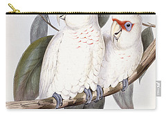 Long-billed Cockatoo Carry-all Pouch by John Gould
