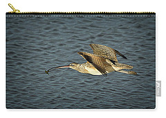 Long-billed Curlew In Flight Carry-all Pouch