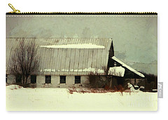 Long Cold Winter - Winter Barn Carry-all Pouch
