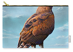 Long Crested Eagle Carry-all Pouch by Anthony Mwangi