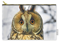 Long Eared Owl 3 Carry-all Pouch