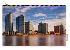 Carry-all Pouch featuring the photograph Long Island City Skyline Nyc by Susan Candelario