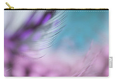 Carry-all Pouch featuring the photograph Long Lashes. Angels Flight Series by Jenny Rainbow