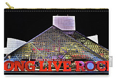 Carry-all Pouch featuring the photograph Long Live Rock by Frozen in Time Fine Art Photography