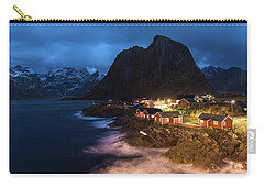 Carry-all Pouch featuring the photograph Long Nights by Alex Lapidus