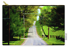 Long Road Ahead Carry-all Pouch