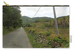 Long Road Into Colombier Carry-all Pouch by Margaret Brooks