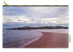 Long Rock In Lake Superior Carry-all Pouch