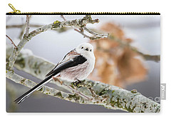 Long-tailed Tit Carry-all Pouch by Torbjorn Swenelius