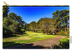 Carry-all Pouch featuring the photograph Long Walk by Ken Frischkorn