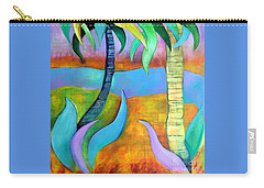 Longboat Key Carry-all Pouch by Elizabeth Fontaine-Barr