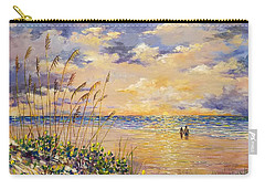 Longboat Key Hockleys View Carry-all Pouch by Lou Ann Bagnall