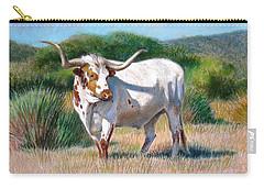 Longhorn Bull Carry-all Pouch