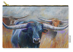 Longhorn Country Carry-all Pouch by Karen Kennedy Chatham