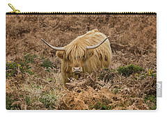 Longhorn On Dartmoor Carry-all Pouch