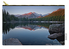 Longs Peak Reflection On Bear Lake Carry-all Pouch