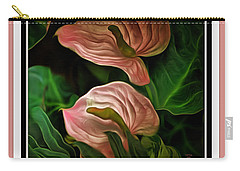 Longwood Lilies Carry-all Pouch by Trish Tritz