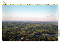 Carry-all Pouch featuring the photograph Look Out Mountain by Debra Forand