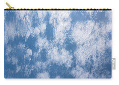 Look Up Not Down Clouds Carry-all Pouch by Terry DeLuco
