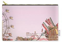 Carry-all Pouch featuring the photograph Look Up To See The Music by Cindy Garber Iverson
