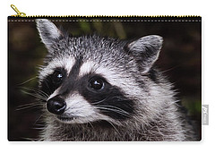 Carry-all Pouch featuring the photograph Look Who Came For Dinner by Jordan Blackstone