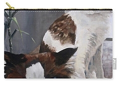 Look Who Is Grumpy Now Carry-all Pouch by Diane Daigle