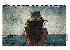 Looking At The Horizon Carry-all Pouch