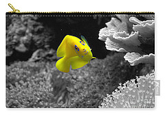 Carry-all Pouch featuring the photograph Looking At You by Deniece Platt