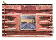 Carry-all Pouch featuring the photograph Looking Back by James BO Insogna