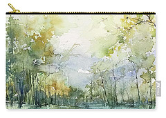 Beyond The Trees Carry-all Pouch by Robin Miller-Bookhout