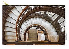 Looking Down The Rookery Building Winding Staircase Carry-all Pouch
