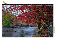 Looking Downstream Carry-all Pouch