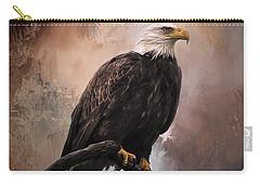 Looking Forward - Eagle Art Carry-all Pouch by Jordan Blackstone